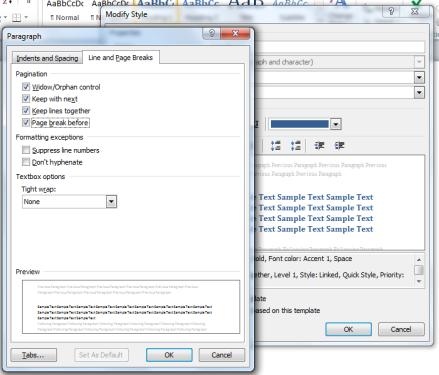 Formatting_Page Break Before