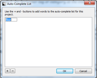 Scriv Auto_Complete Window