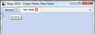 Scriv Proj Notes Tabs