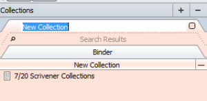 Scriv Collections Management