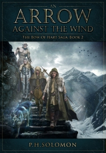 Book Cover Arrow Against The Wind
