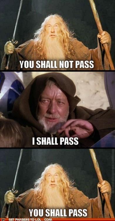 Gandalf and Kenobi